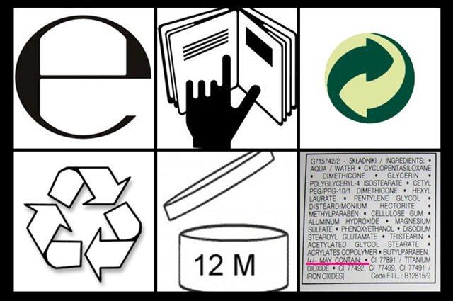 Símbolos en los cosméticos: cuáles son y qué significan