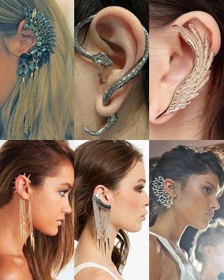 140e039f1682 Ear Cuff  el pendiente más trendy