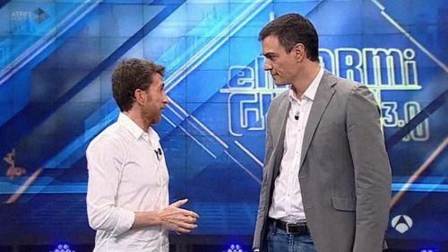 Pablo Motos': 'El orgullo de Pedro Sánchez le impide decir que la han cagado'