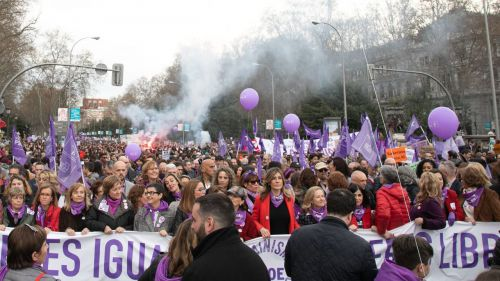 Más de 600.000 personas asistieron el 8-M a las marchas por el Día de la Mujer