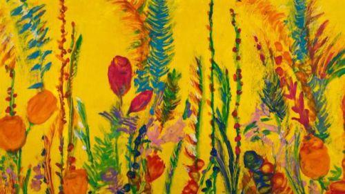 'Pintura a ciegas' en homenaje a todas las víctimas del Covid-19