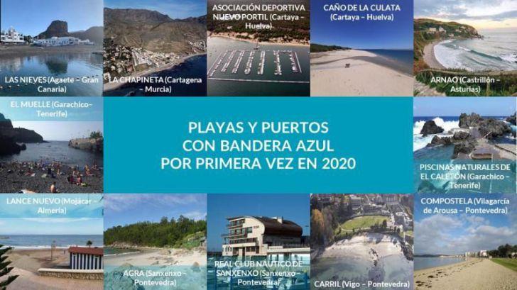 España tiene 589 playas con bandera azul, 23 más que en 2019