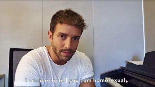 'Sin miedo': Pablo Alborán confiesa en Instagram su homosexualidad