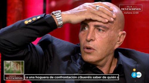 La reacción de Kiko Matamoros en 'El debate de las tentaciones' al ver el avance de esta noche