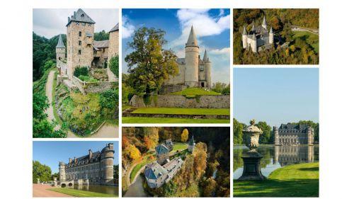 ¿Sabías que Bélgica es el país con más castillos por metro cuadrado del mundo?