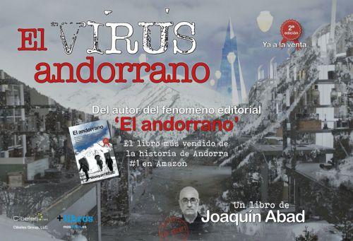 Joaquín Abad sorprende con su última novela: ¿Y si el Covid-19 viniese de Andorra?