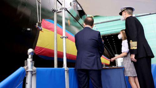 España bota el primer submarino de cuatro del programa S-80 Plus
