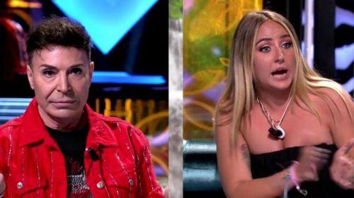 Carlos Sobera tiene que poner freno a Rocío Flores tras atacar al Maestro Joao, Belén Rodríguez e incluso al regidor