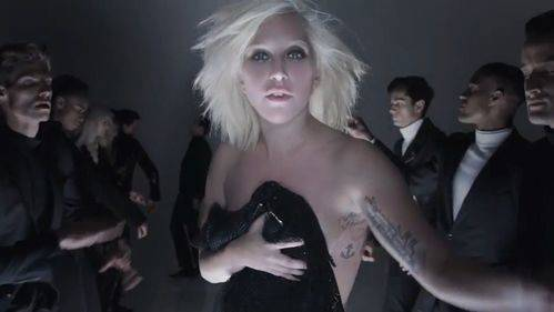 Lady Gaga a lo Tom Ford