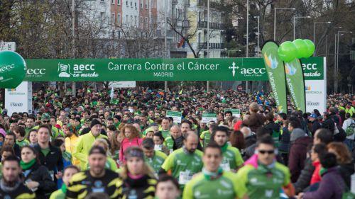 """Abierto el plazo de inscripción para la V edición de la carrera """"AECC Madrid en Marcha Contra el Cáncer"""""""