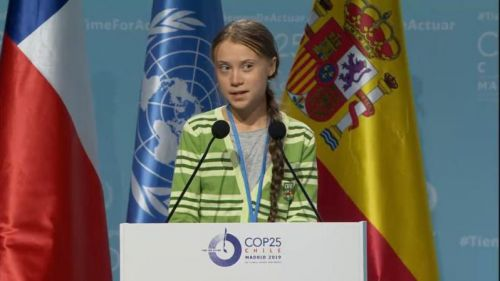 Greta Thunberg pide a los negociadores de Naciones Unidas que se centren en la 'equidad'