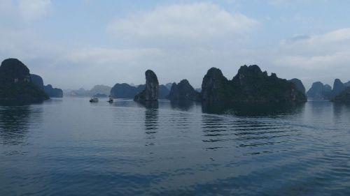 La belleza de Halong (II): En medio de arrozales