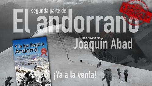 ¿Qué quiere Joaquín Abad que descifremos con la linterna que incluye su novela 'Y la luz llegó a Andorra'?